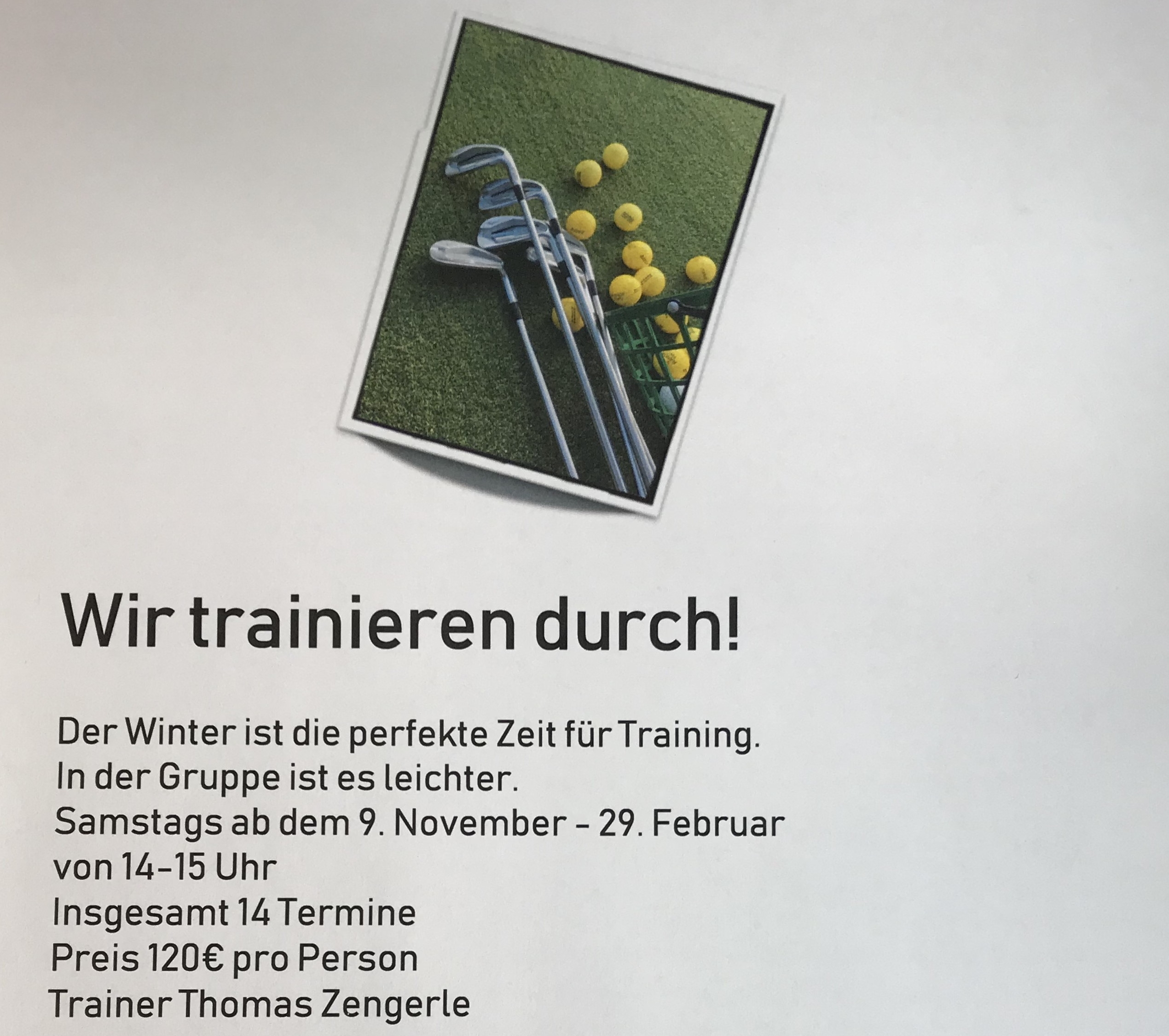 Wintertraining Zengerle